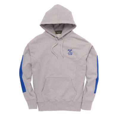 Strutting gait hoodie Gray