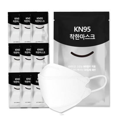 3Q 1회용 KN95 착한마스크 30매입+사은품