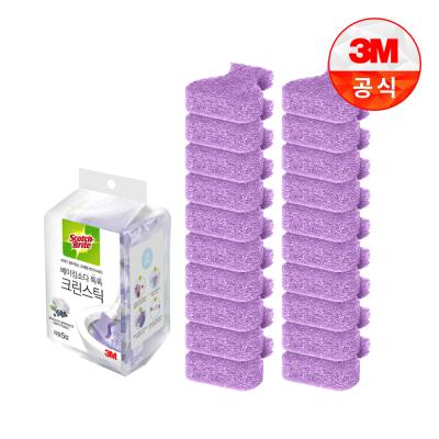 [3M]크린스틱 베이킹소다 변기청소 리필20입