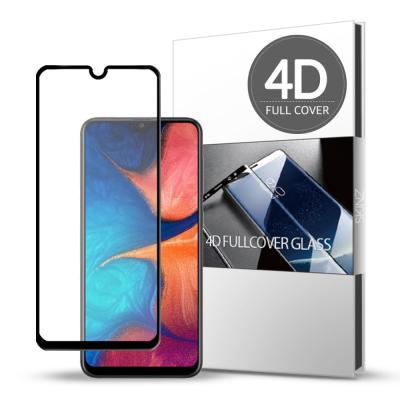 스킨즈 삼성 갤럭시A20 4D 풀커버 강화유리 (1장)