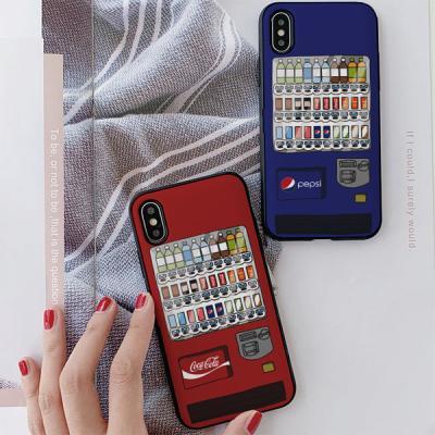 아이폰8 자판기 카드케이스