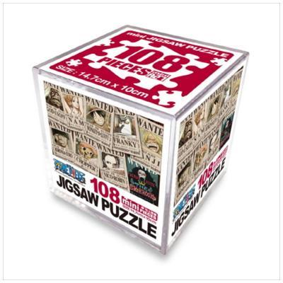 원피스 직소퍼즐 미니 Cube 108pcs: 뉴현상수배