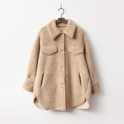 Teddy Bear Mustang Shirts Coat