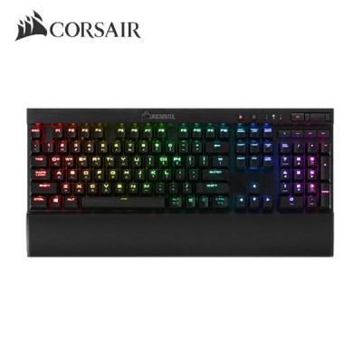 커세어 메카니컬 게이밍 키보드 K70 LUX RGB MX SILENT 적축 (커스텀 키캡 제공 / 팜레스트 / RGB LED 백라이트)
