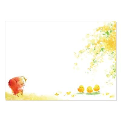 캘리그림엽서-따스한봄(10장)