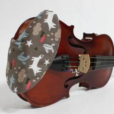 바이올린 핸드메이드 턱받침 커버 V-모델 No36