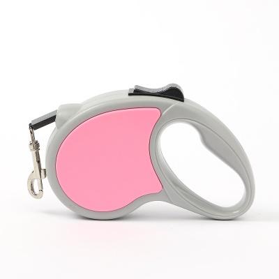 세이프 애견 자동 리드줄(3M) (핑크)