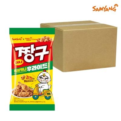 삼양 미니 짱구 멕시카나 후라이드 치킨맛 57g 20개