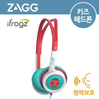 [ZAGG] Little Rockerz OE[틸/코랄_플라워][유아용헤드폰/청력보호]