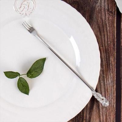 빈티지 테이블 로즈 롱티포크 1개