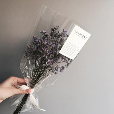 드라이플라워 오하이오 미스티블루 미니 꽃다발