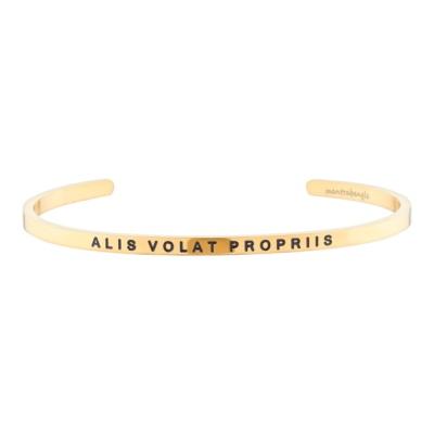 [만트라뱅글] ALIS VOLAT PROPRIIS - 골드