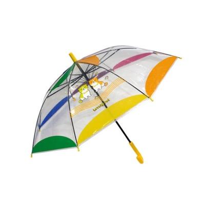 러블리펫우산 X 2개 (랜덤) 투명우산 유아우산 어린이