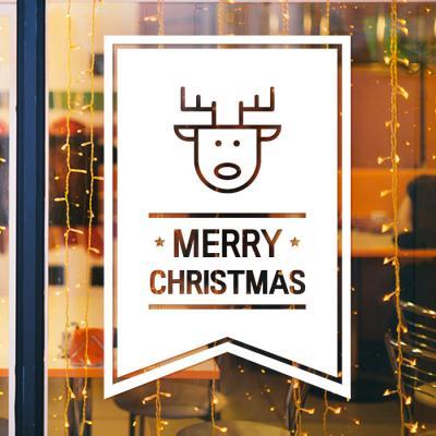 제제데코 크리스마스 눈꽃 스티커 장식 CMS4J143