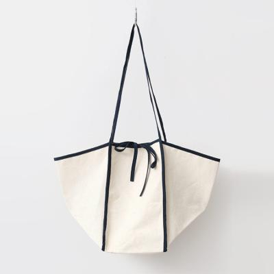 Ribbon Cotton Echo Bag
