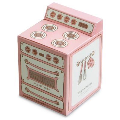 핑크 빈티지 오븐 머핀상자 (2개)