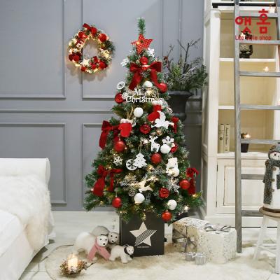 앳홈 에블린레드 크리스마스 트리 160cm