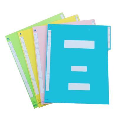컬러 정부파일 A4 10개 SET / 화일세트 / 파일세트