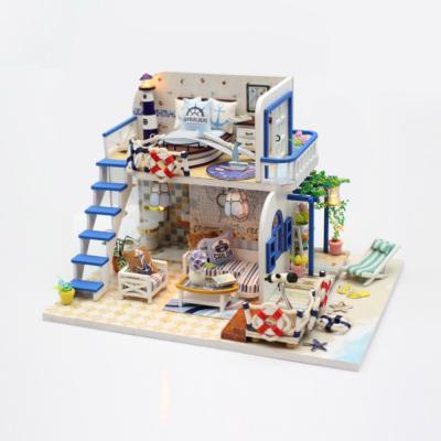 [adico]DIY 미니어처 하우스 - 블루코스트