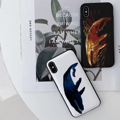 흰달 고래 카드케이스