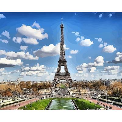 아이엠미니 DIY 별빛 명화그리기 40x50_파리의 에펠탑