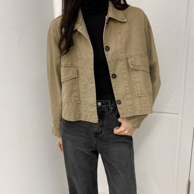 Vintage Fall Denim Jacket