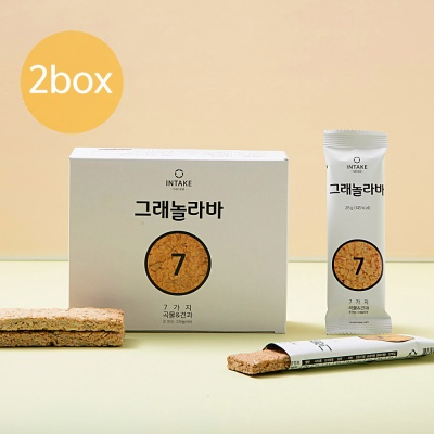 인테이크 그래놀라바 2Box(28gx10팩)