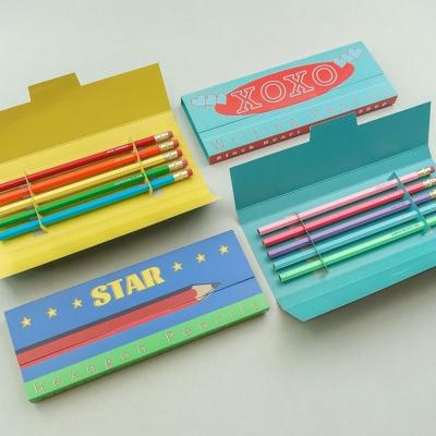메시지 연필 세트(연필선택가능)