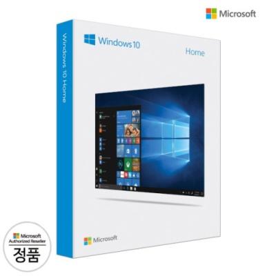 정품 MS Windows10 Home FPP 처음사용자용