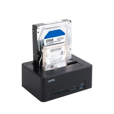 2Bay 하드디스크 도킹스테이션 /HDD/SSD/복제 LCKS159