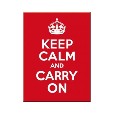 노스텔직아트[14291] Keep Calm and Carry On