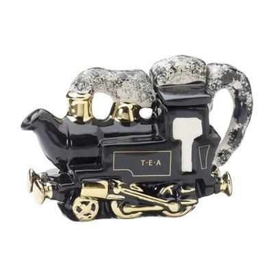 [smalll size]  기차 도자기 티 포트