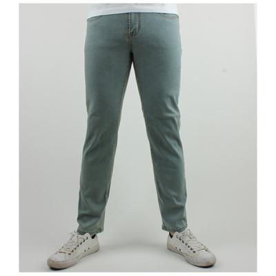 [ARSON] #14050 SLIM STRAIGHT JEANS (BLUE)