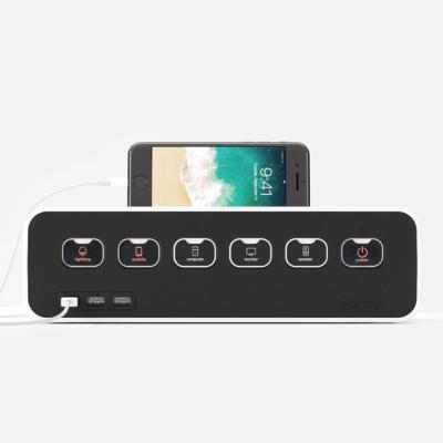 에이블루 박스탭 USB거치형 전선정리 멀티탭 (AB530S)