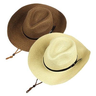 린넨 정글모 챙넓은 카우보이 모자