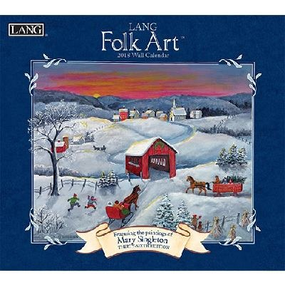 2018 벽걸이 달력 - Lang Fork Art