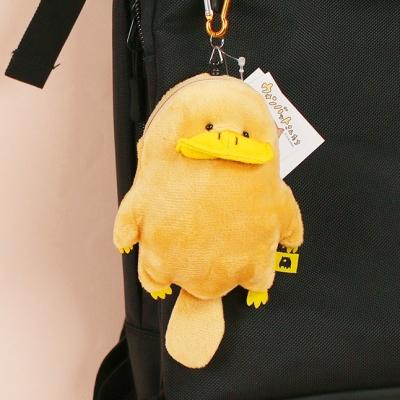 오리너구리 가방 고리 인형 키링 가방고리 동전 지갑