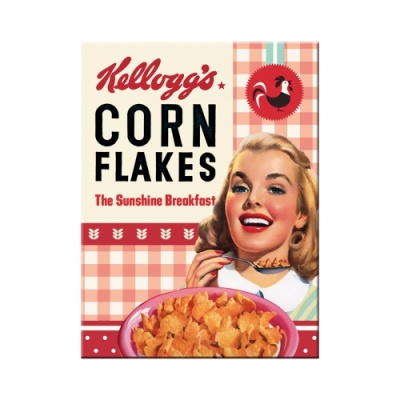 노스텔직아트[14368] Kellogg's - Girl Corn Flakes