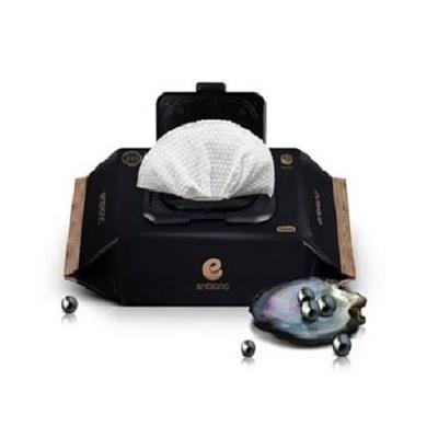 앙블랑 프리미엄 물티슈 블랙 휴대캡형 24매x20팩
