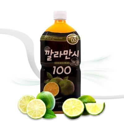 [엠제이] 깔라만시 100 착즙원액 주스 1000ml