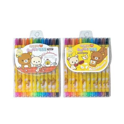 5000 리락쿠마 12색 슬라이더 색연필