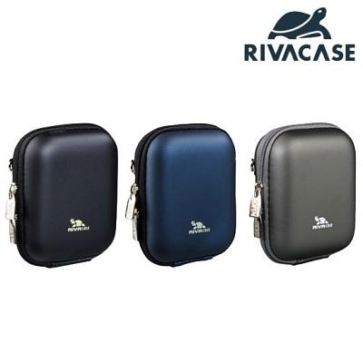 전자기기 & 디지털카메라 케이스 RIVACASE 7006 (PU) (하드 EVA 케이스 / 탈부착 스트랩 / 벨트 장착)