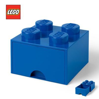 레고 블럭 서랍형정리함 4구 1731 _ 파랑