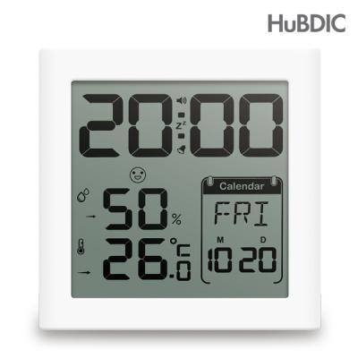 휴비딕 디지털 시계 온습도계 HT-5 달력