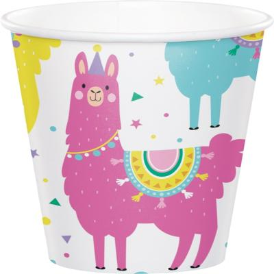 라마 종이컵 9oz CC Llama Party paper cups