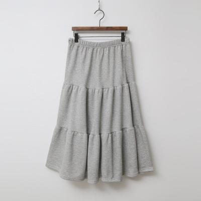 Gimo Cancan Long Skirt - 기모안감
