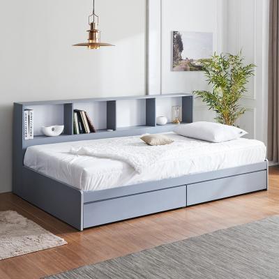 러블리 책장 서랍형 침대 슈퍼싱글+독립 매트리스