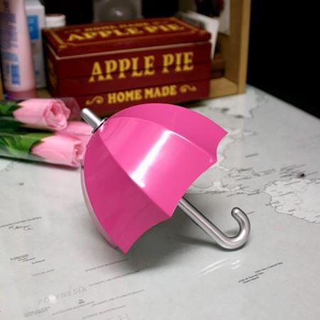 미니 우산 라디오 - 클래식 핑크