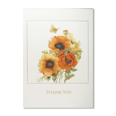 홀마크 감사 카드(꽃8)-KED3060