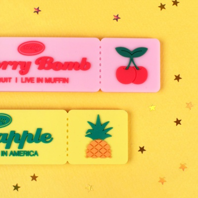 TASTY FRUITS TICKET NAMETAG
